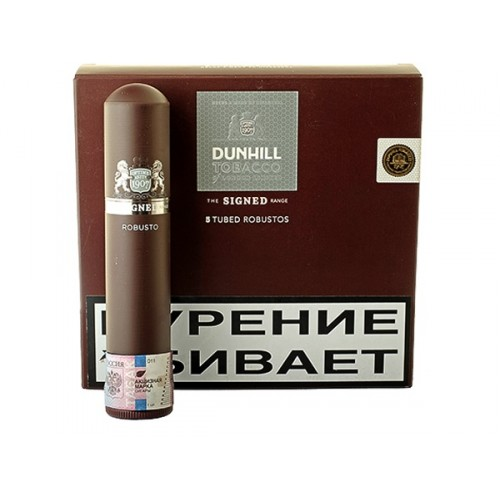 Сигары Dunhill SR new Tubed Robusto 5