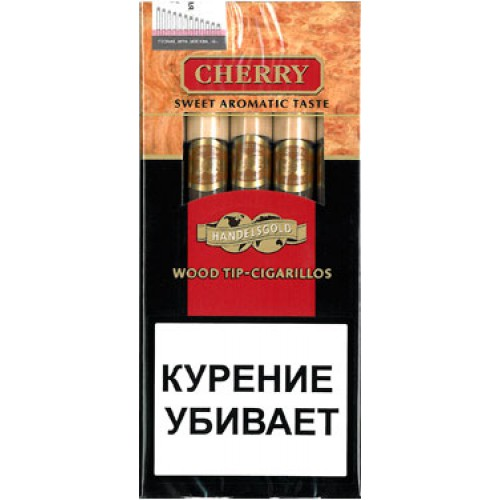 Сигариллы Handelsgold Cherry Wood Tip-Cigarillos