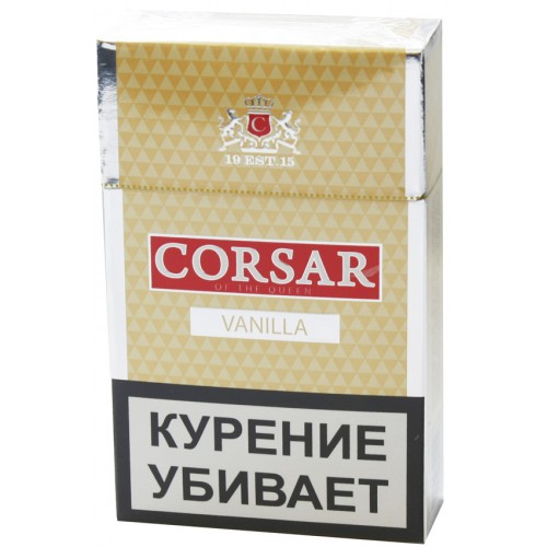 Сигариллы Corsar of the Queen Vanilla Limited Edition 10 шт.