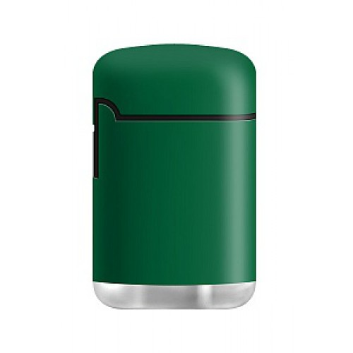 Зажигалка Zenga Case Jet LOGO Rubberized green ZL-3