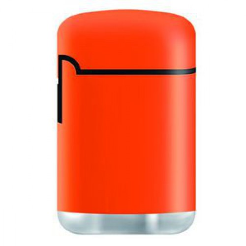Зажигалка Zenga  Jet LOGO Rubberized orange ZL-3